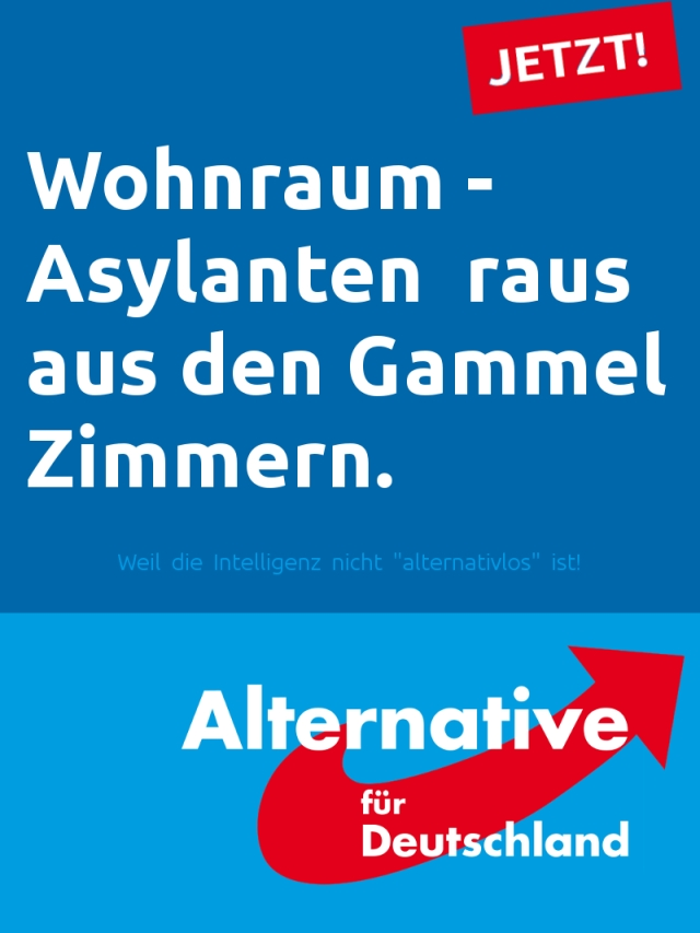 AfD-Plakat
